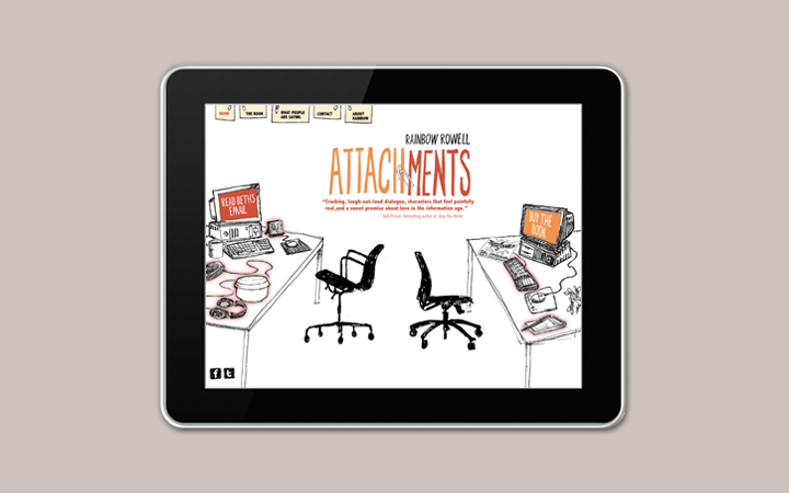 rainbow_rowell_author_writer_book_pop_culture_attachments_microsite