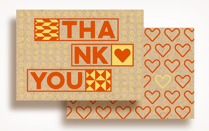 30 Days of Love_screen print cards